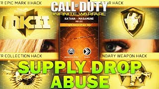 Abusing The System - Supply Drops In Call Of Duty (Supply Drop Opening Infinite Warfare)