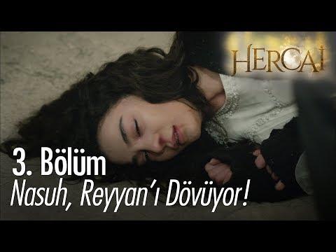 Nasuh, Reyyan'ı Dövüyor! - Hercai 3. Bölüm