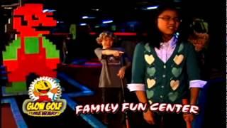 Glow Golf at the Family Fun Center XL