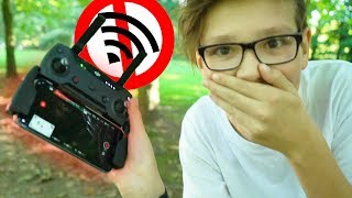 DROHNE verliert VERBINDUNG... im WALD! - Daily Vlog 32