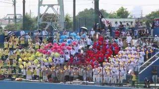 船橋東高 野球応援 地元船橋球場は満席!
