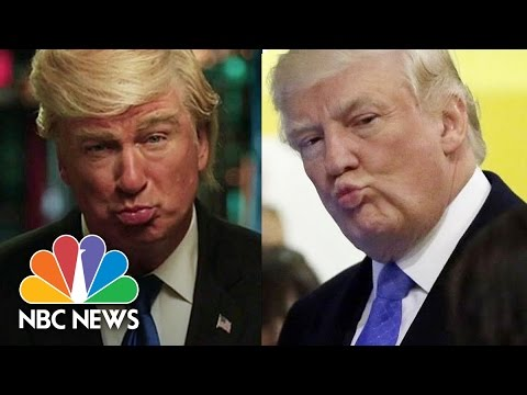 President Donald Trump And SNL: Lampooning The President's First 100 Days | NBC News