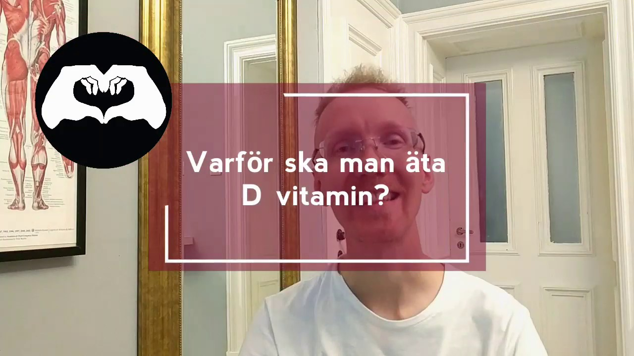 varför ska man äta d vitamin