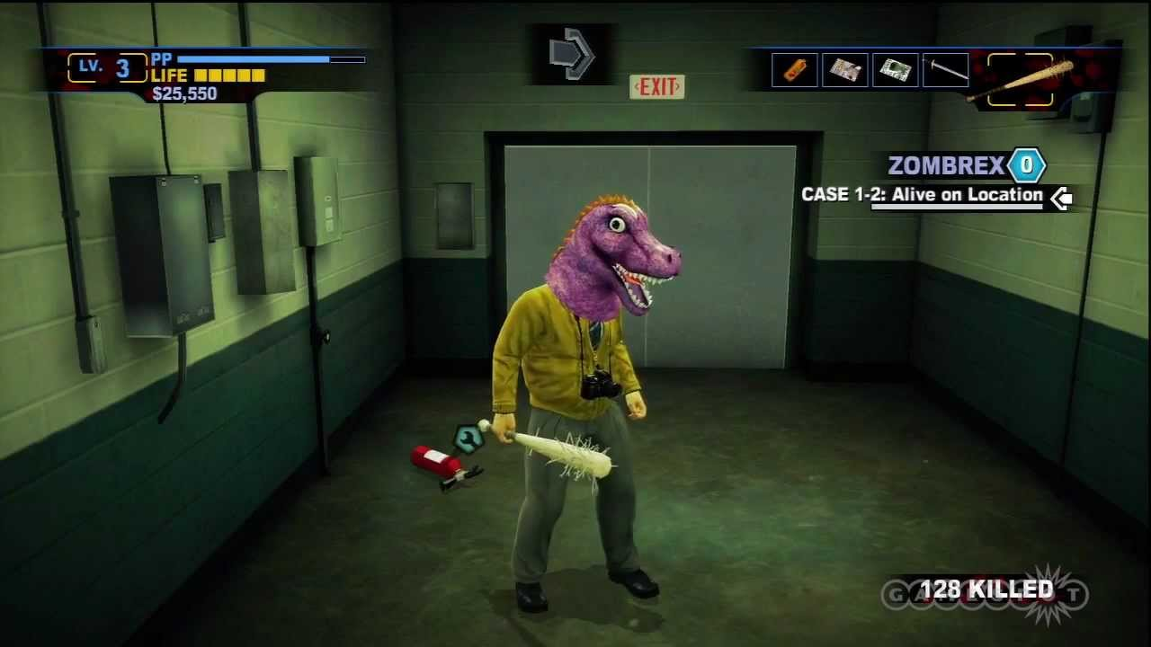 Dead Rising 2 Off The Record Weapon Crafting Gameplay Video