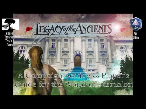Legacy of the Ancients Preview Book Kickstarter Video