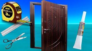 видео Утепление дверей