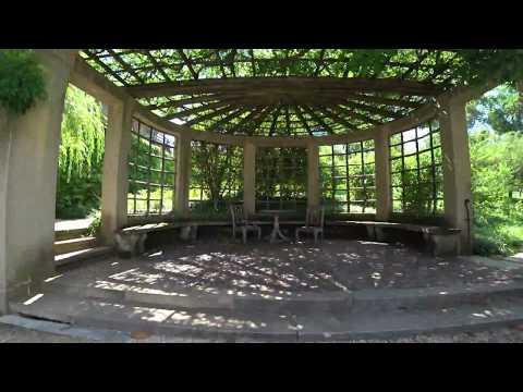 Dumbarton Oaks Garden Walking Tour in 4K
