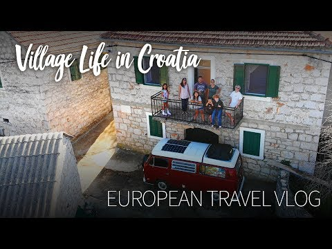 Village Life on Hvar Island, Croatia :: European Travel Vlog