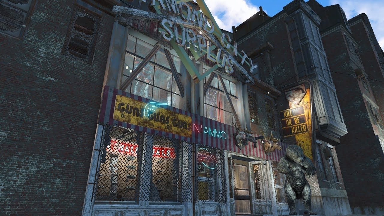 Fallout 4 Diamond City