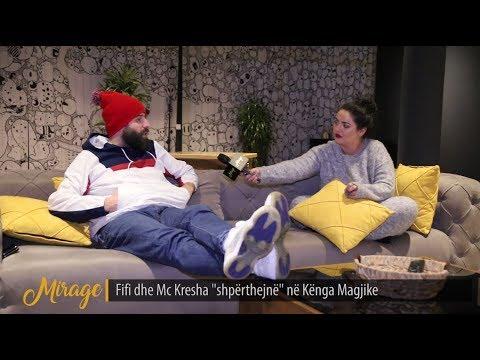 """Fifi dhe Mc Kresha, çfarë fshihet pas suksesit të """"Psikopatja jote""""?! - MIRAGE - 30.11.2018"""