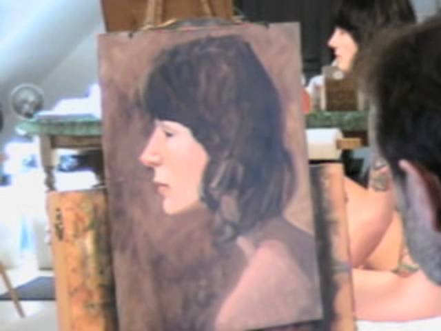 Paul Schulenburg, Figure Painting Demonstration