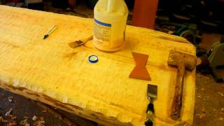How to Make a Rustic Plank Table by Jim the Rustic Furniture Artist Part 40