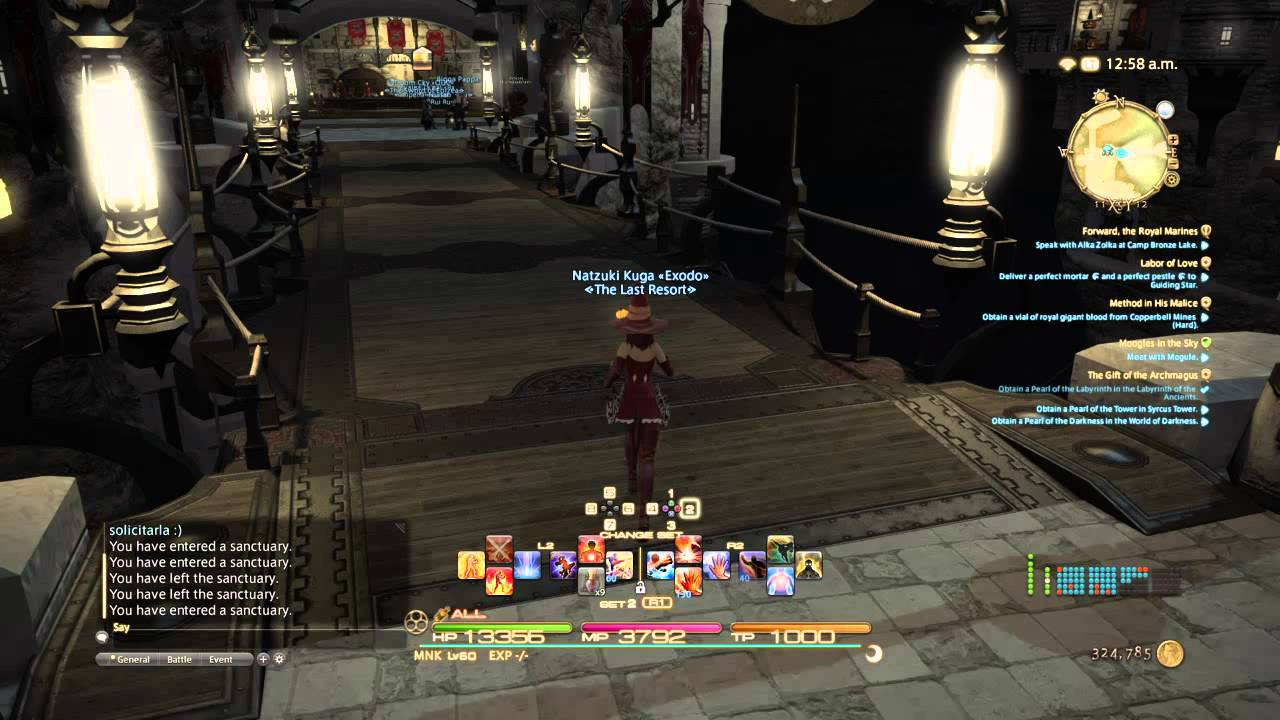 Final Fantasy Xiv Add Fc Emblem Youtube