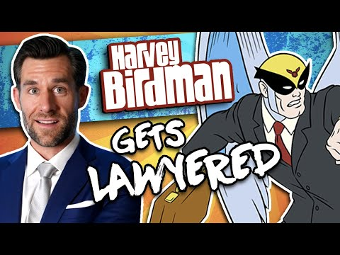Real Lawyer Reacts to Harvey Birdman (Bannon Custody Case)
