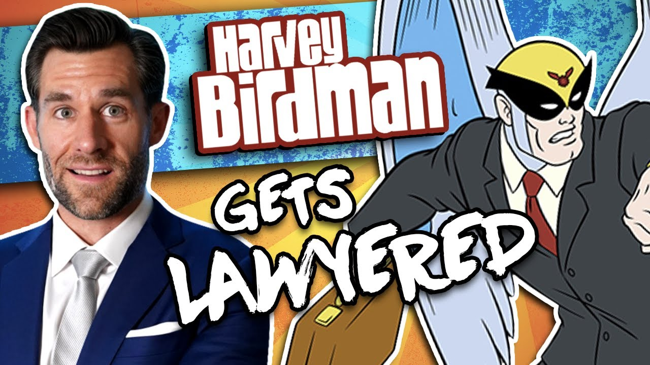 Legal Eagle Real Lawyer Reacts to Harvey Birdman (Bannon Custody Case)