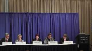 Future of California Elections Conference Panel 3 - The Big One/Major Disasters