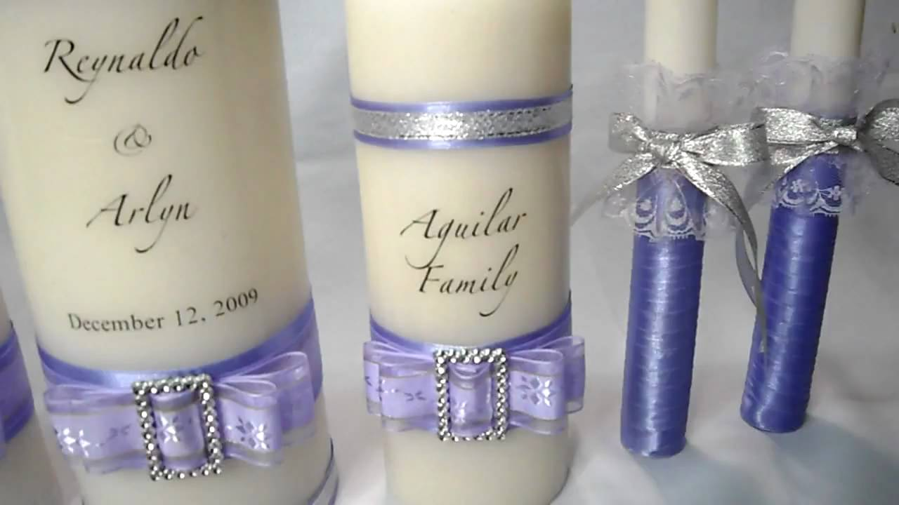unity candle for wedding by tiffany novelty youtube