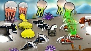 【小熙解说】外星虫女王 升级超级大水母与核弹对抗疯狂的敌人!Swarm Queen