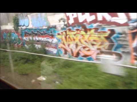 Washington DC Metro   Red Line FULL JOURNEY: Shady Grove to Glenmont