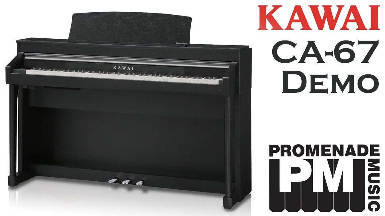 kawai ca 67 digital piano demo youtube. Black Bedroom Furniture Sets. Home Design Ideas
