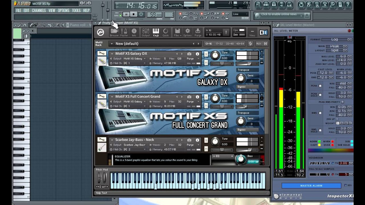Yamaha motif xs virtual vst rtas clases de ingenieria for Yamaha motif sounds download free
