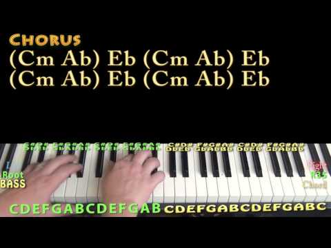 It Don't Hurt Like It Used To (Billy Currington) Piano Lesson Chord Chart