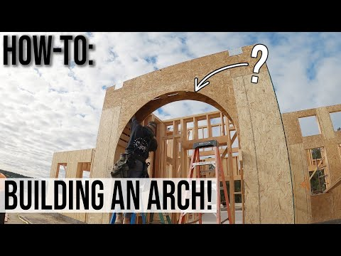 How-To: Laying Out & Building A Round Arch!