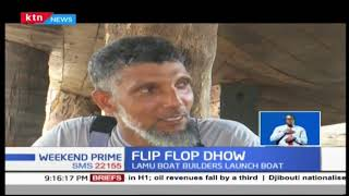 World\'s first fully recycled plastic and flip flop boat launched in Lamu