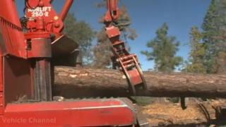Forest machine Forestry equipment   Bradco Whole Tree Chipper