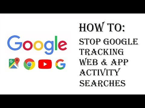How To Stop Google Tracking Searches Web & App Activity - Stop Saving Searches History