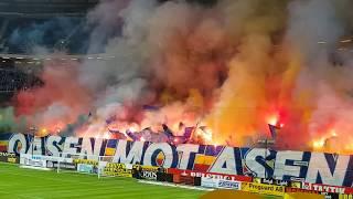15.04.2018 AIK Stockholm - Djurgardens IF 2:0, Support, Pyro, Choreo, Fans, Tifo