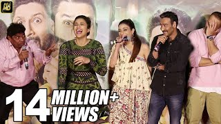 Ajay Devgn, Johnny Lever, Parineeti Chopra FUNNY Moments At Golmaal Again Trailer Launch