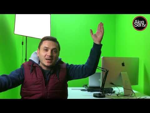 BJK Tv de bardak kırıldı