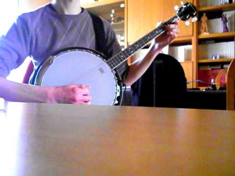 Drunken Lullabies - Flogging Molly : Tenor banjo cover. - YouTube