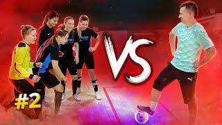 Сибскана попал в женскую команду футзал челлендж против футболиста сборной России