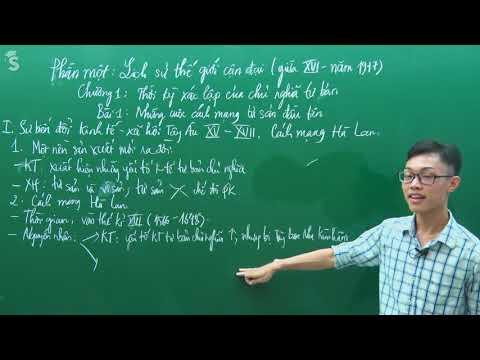 Những cuộc cách mạng tư sản đầu tiên – Sử lớp 8 - Thầy giáo : Trần Thanh Quang