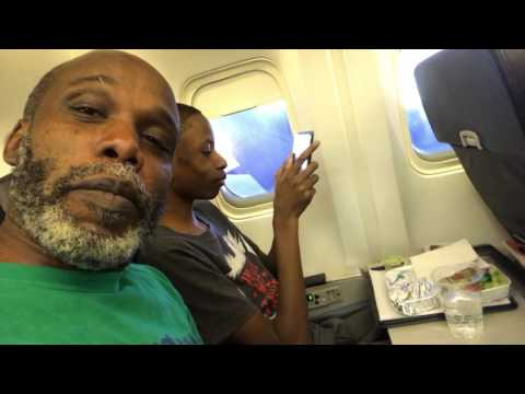 Jamaican accent from the flight deck on Fly Jamaica and unexpected inflight meal February 2017