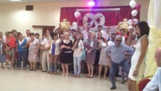 Поздравление Ганкамстайл на бурятской свадьбе.