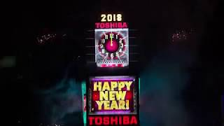 2018 New Year&#39s Eve Ball Drop New York