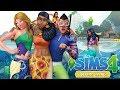 Merenneitoja, tulivuori ja snorklausta! 🧜♀️☀️🌴 The Sims ...