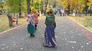 ATS Flash Mob World Wide 2017 Tribal Dance Россия Воронеж Лена Па г Москва