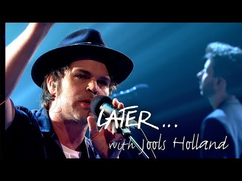 Supergrass' Gaz Coombes makes his Later… solo debut performing Deep Pockets