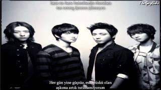 C.N.BLUE (씨엔블루) - Lie Turkish Sub & Romanization Lyrics Mp3