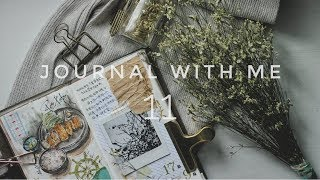Journal With Me 11 | Lollalane | Traveler's Notebook