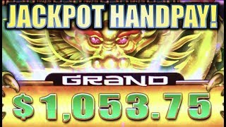 ★JACKPOT HANDPAY!★ MASSIVE BIG WIN! HAO YUN LONG (Aristocrat | Gimmie Games) Slot Machine Bonus
