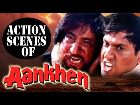 Govinda & Chunky Pandey : Best Bollywood Hindi Action Scenes   Aankhen   Jukebox