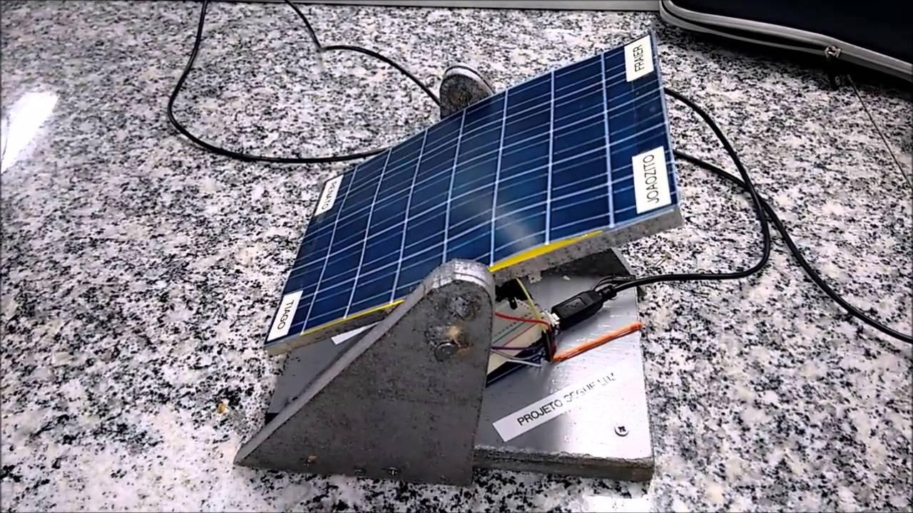Projeto arduino painel solar inteligente youtube