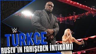 WWE RAW Türkçe Altyazı   Rusev'in FAHİŞE LANA'dan İNTİKAMI Büyük Olacak!!!