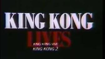 King Kong Lives 1986 Full Movie