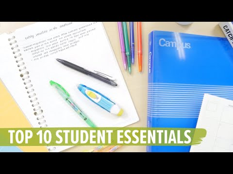 Top 10 Student Essentials